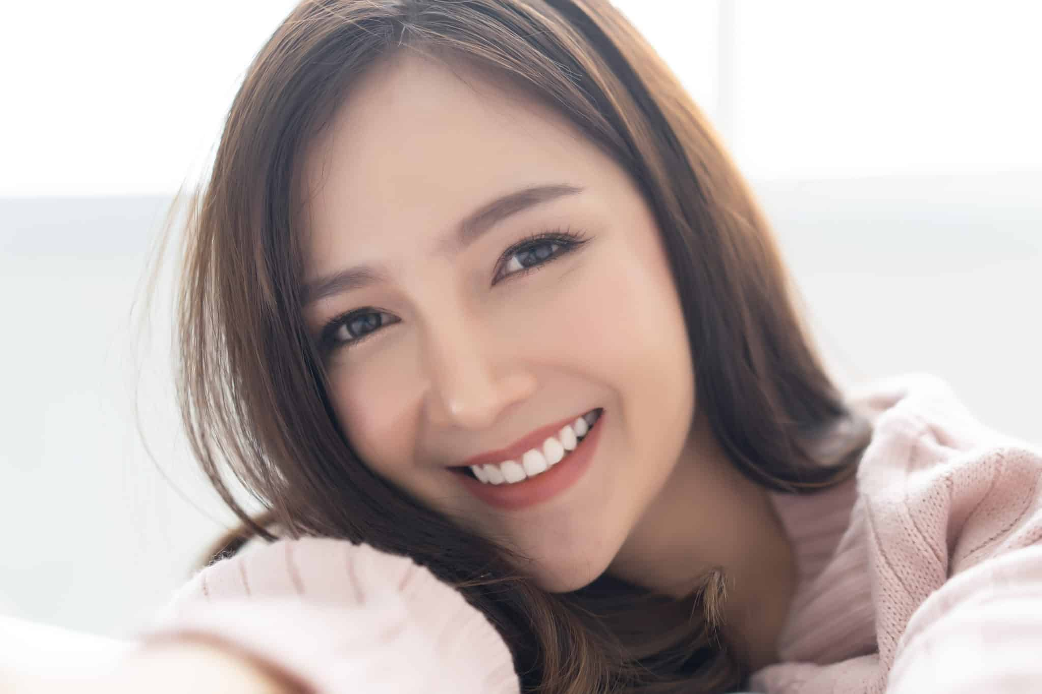 笑顔のフィリピン女性