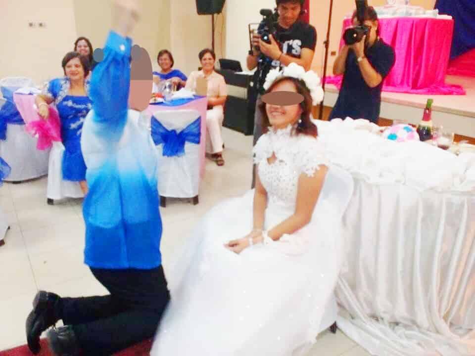 指輪贈呈~結婚式